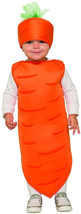 Forum Novelties Baby Carrot, As Shown