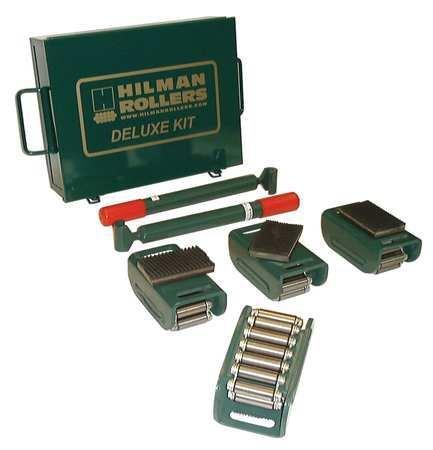 Equipment Roller Kit 6000 lb. Swivel by HILMANROLLERS