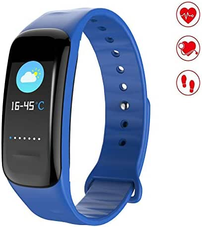 MEGAUS Fitness Tracker Color Screen Sport Band Heart Rate Monitor,HR/Blood Oxygen/Pressure/Calorie/Sleep Monitor.