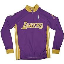 NBA Los Angeles Lakers Women's Long Sleeve Away Cycling Jersey