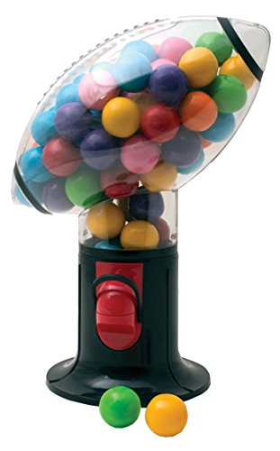 DOMAGRON Football Snack Candy and Gumball Dispenser (Gumball Machine)