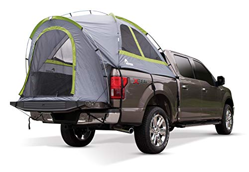Napier Backraodz Truck Tent: Compact Short Bed, Grey/Green