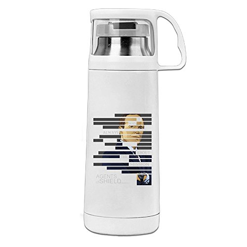 [NADAKI The Shield Legacy Outdoor Stainless Steel Bottle White] (Caitlyn Costumes)