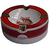 Old Havana Cars Cigar Ashtray - Red Velvet (10'' x 3 1/4'')
