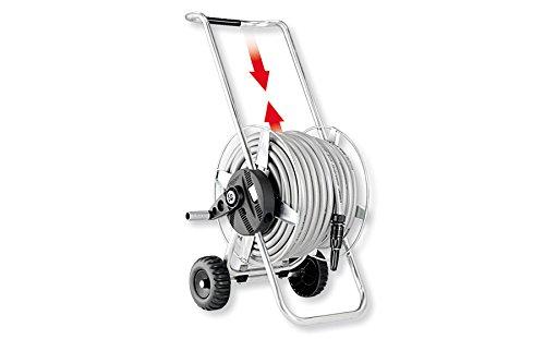 'Claber d89060000 – Carrello Metallo Compact tubo 25 m 5 8 15 mm