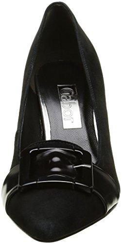 Scarpe Gabor Nero Tacco Donna Con Fashion schwarzaltsilber 5FqwFS
