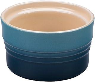 Le Creuset Stoneware 7-Ounce Stackable Ramekin, Black