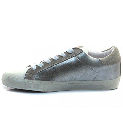 GUESS Vega, Zapatillas de Tenis para Mujer plateado