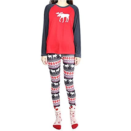 MH-RITA Women Pijama Adult-Deer-Pajamas Animal Pajamas For Adults Spring Autumn