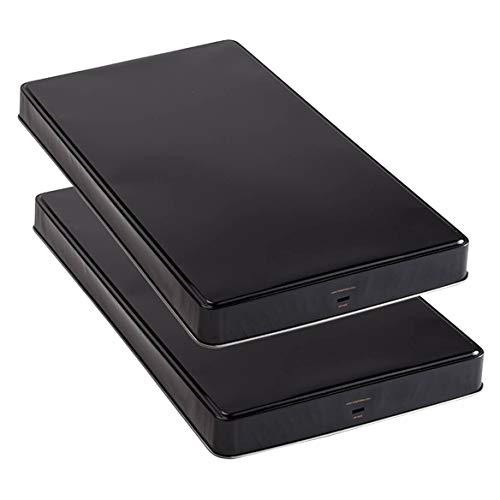 Miles Kimball Extra Deep Burner Covers - Set Of - Burners Oven Black