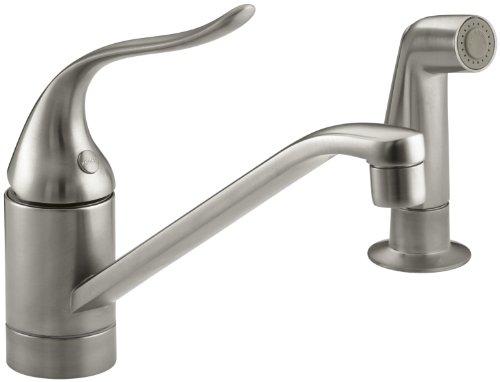 (KOHLER 15176-F-BN Coralais(R) Two-Hole Sink 8-1/2