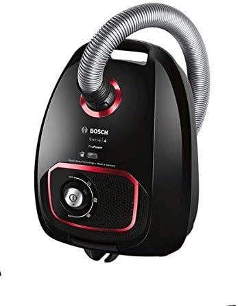 Bosch Electroménager Serie 4 ProPower BGBS4POW1, Aspirateur traineau, Noir, 850 W, 4 liters, 76 décibeles
