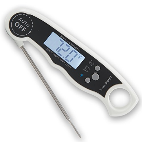 External Magnet (ThermoKRAFT PRO [2017 NEWEST MODEL] - Digital Instant Read Food Cooking Thermometer Probe for Kitchen, BBQ, Grilled Meat, Baby-Formula | Includes Integrated Magnet + Internal Temperature Guide)