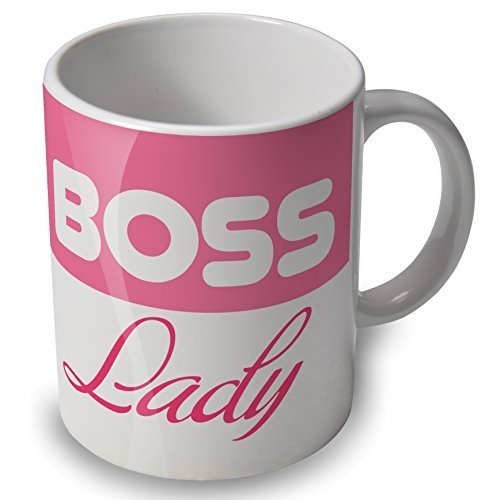 Boss Lady - Mug Cup - great gift for female bosses
