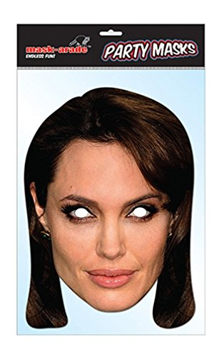 Angelina Jolie Celebrity Face Mask (Celebrity Face Masks)