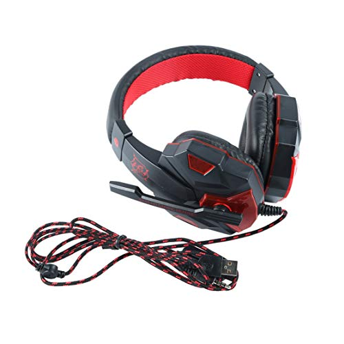 LouiseEvel215 Comfortable Headset Bass Gaming Headphones Game Headphones Suitable for PS4 for XBOX ONE With Microphone: Amazon.co.uk: Sports & Outdoors