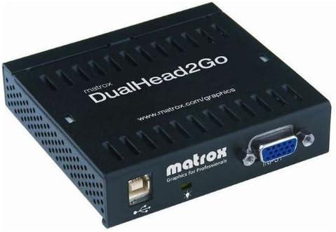 D2G-A2A-IF MATROX D2G-A2A-IF Matrox Graphics D2G-A2A-IF DualHead2Go Analog MultiView Device V