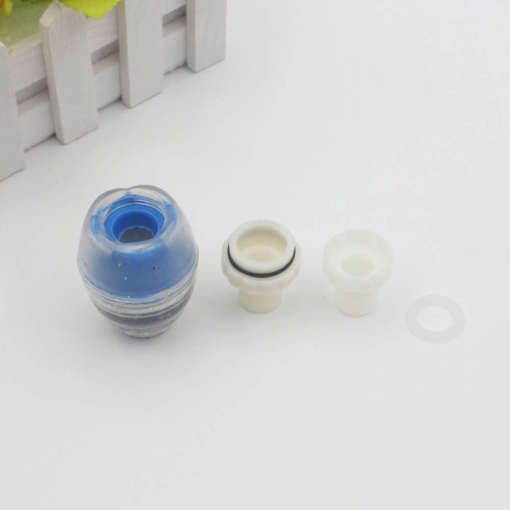 Kokosnuss Kartuschenfilter mit 2 Screwed Dichtung K/üchenarmatur n/ützlich und gut Wasserfilter NiceButy Wasserhahn nat/ürlich Wasserreinigung Wasserhahn f/ür den Heimgebrauch