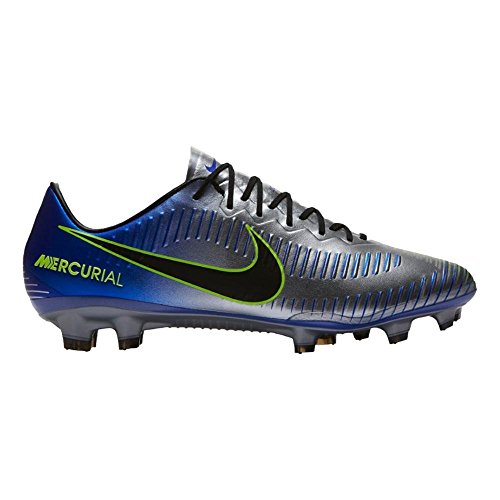 NIKE Neymar Mercurial Vapor XI FG Cleats [Racer Blue] (10) (Mercurial Vapor Cleats)