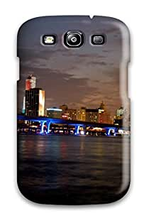 Hot Snap-on Miami City Hard Cover Case/ Protective Case For Galaxy S3
