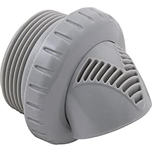 """Entrada Fitting, infusión Venturi, 1–1/2""""MPT, gris claro"""