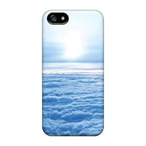 First-class Case Cover For Iphone 5/5s Dual Protection Cover In The Sky