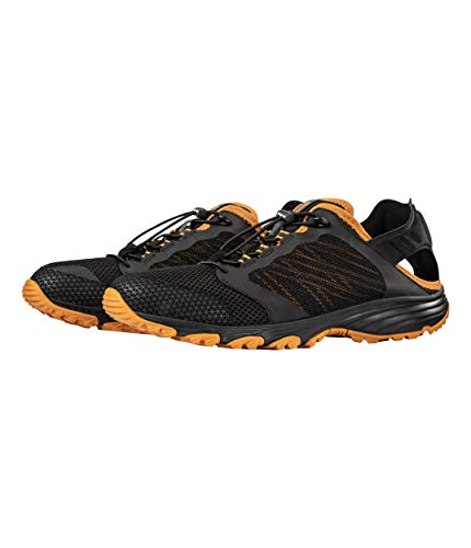 The North Face Men's Litewave Amphibious II, TNF Black/Citrine Yellow, Size 11.5