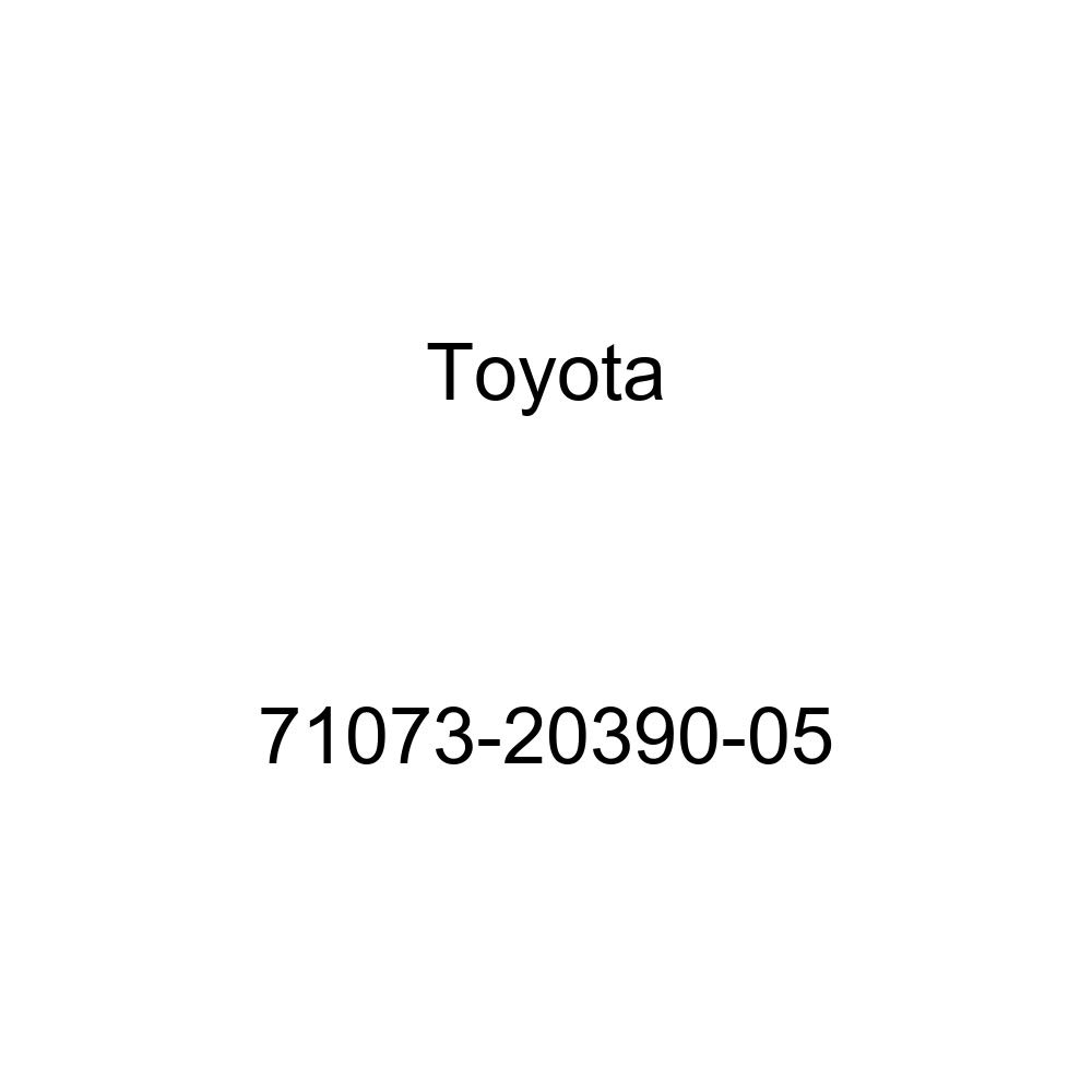 TOYOTA Genuine 71073-20390-05 Seat Back Cover