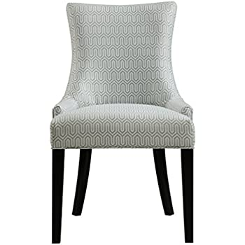 Pulaski Modern Upholstered Dining Chair in Geo Mist  MulticolorAmazon com   Homelegance 2588S Accent Dining Chair  Set of 2  . Grey Upholstered Dining Chairs. Home Design Ideas