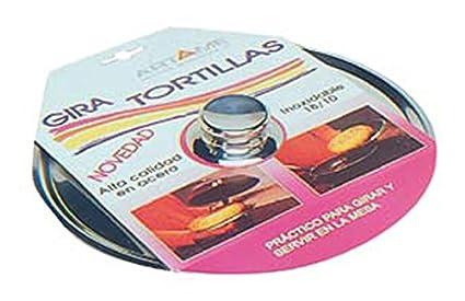 Tapa Giratortillas Inox Artame 33551-28Cm: Amazon.es: Bricolaje y ...