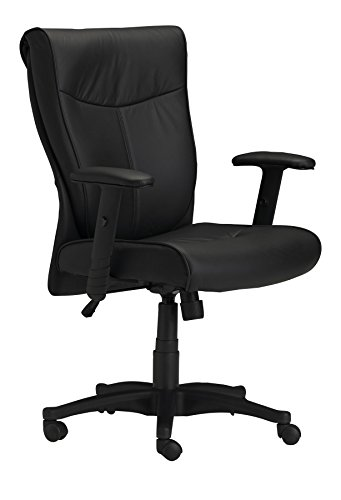 Mayline Mercado Wood (Mayline Mercado Leather Series Chair,)