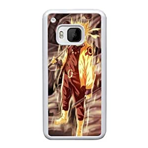 HTC One M9 Cell Phone Case White Naruto ST1YL6709025