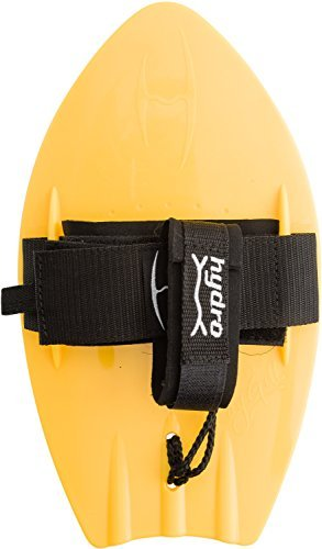 Hydro Body Surfer PRO Handboard - Yellow - Hand surfer enables the rider to plane more quickly with more lift and speed