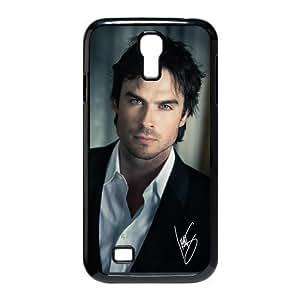The Vampire Diaries Ian Joseph Somerhalder Custom Hard Plastic Samsung Galaxy S4 I9500 Case Cover by mcsharks
