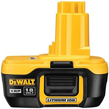 dewalt dc9182 18v xrp lithium ion battery. Black Bedroom Furniture Sets. Home Design Ideas