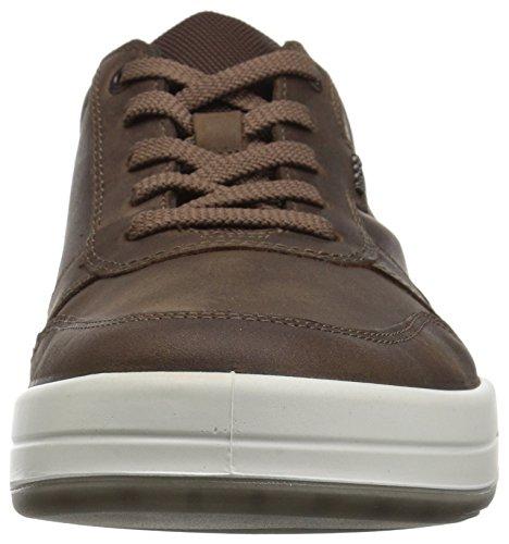 Ecco Mens Jack Sportiva Legame Sneaker Cacao Modo Marrone / Bianco / Cammello