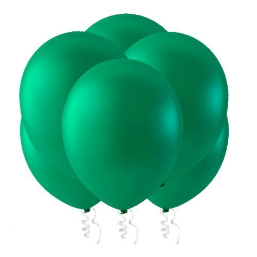 Green Latex Balloons (Celebrity 12