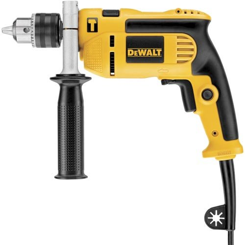 DEWALT DWE5010 1/2-Inch Single Speed Hammer Drill (Single Speed Impact Drill)