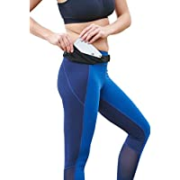 Mind and Body Experts Ultra-Slim Running Belt (Green or Pink)