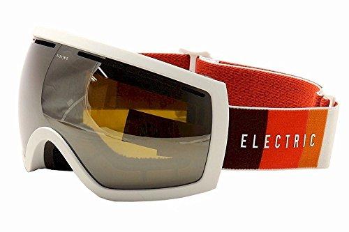 Silver Blast - Electric Visual EG2.5 Orange Blast White/Silver Chrome Snow Goggle