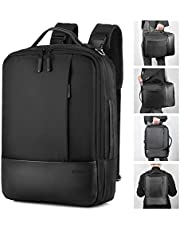 Gimars Backpack for 15.6in Laptop/USB Port Earphone Interface/Anti Thief/Waterproof Business Travel Casual School Daypack Rucksack for Women Men Boys Girls