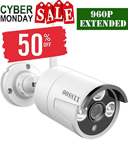 WiFi Bullet Camera 960p,just Extend for OOSSXX WiFi Kit