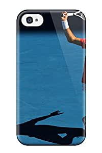New Diy Design Roger Federer For Iphone 4/4s Cases Comfortable For Lovers And Friends For Christmas Gifts