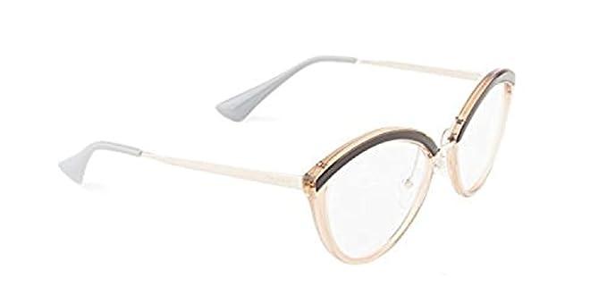 bb58bda73da0 Prada Women s PR 14UV Eyeglasses 52mm at Amazon Women s Clothing store