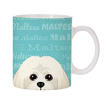 Adorable-Dog-Breed-Specific-11oz-Ceramic-Coffee-Mug-Maltese