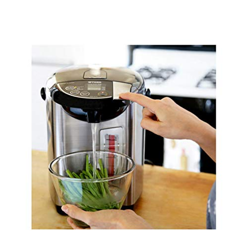 Tiger PDU-A40U-K Electric Water Boiler and Warmer, Stainless Black, 4.0-Liter Includes Travel Mug and 2 Mugs by Tiger Corporation (Image #6)