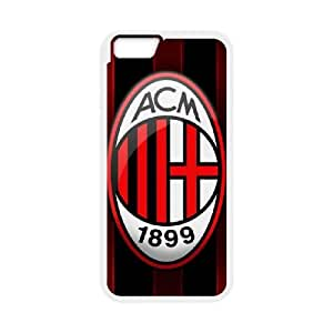 AC Milan iPhone 6 Plus 5.5 Inch Cell Phone Case White&Phone Accessory STC_029934