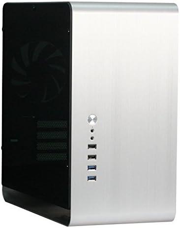 Cooltek UMX3 Plata - Caja de Ordenador (PC, Aluminio, SGCC, Plata ...