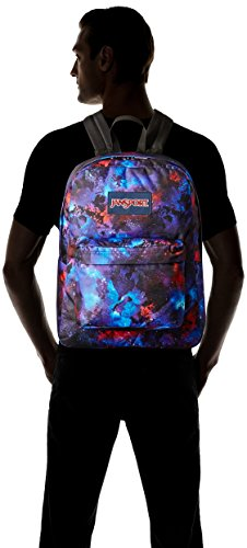 Jansport Label Jansport Backpack Adult Superbreak Unisex Unisex Black Blue vZqFqR