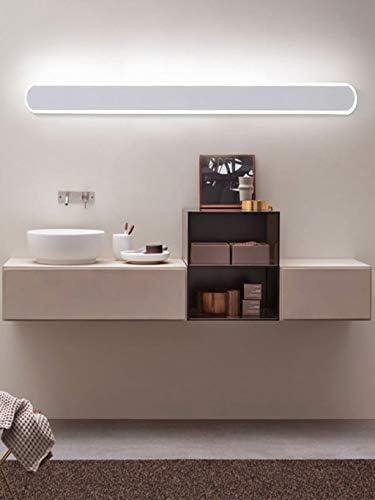 -badezimmerlampe Badezimmer LED-Spiegel-Scheinwerfer, Designer minimalistischen Hotel Spiegelschrank Toilette Spezielle Vanity Licht Badleuchte (Color : Warm light)